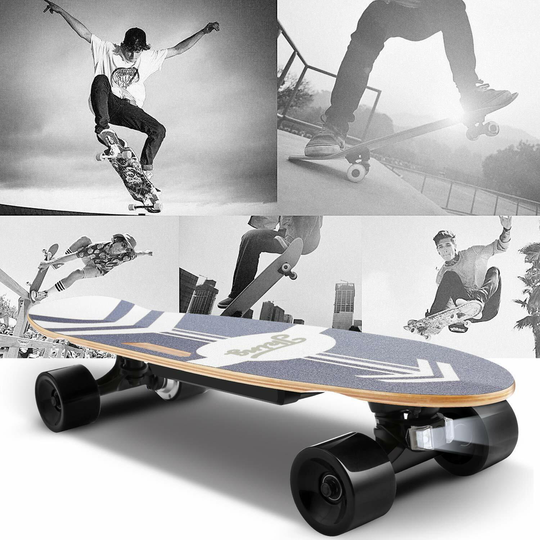 20km/h Elektro Skateboard Longboard E-Scooter Board m. Fernbedienung 350W 3 Gang
