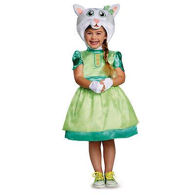 Daniel Tiger's Neighborhood Katerina Kittycat Deluxe Toddler Costume   Disguise
