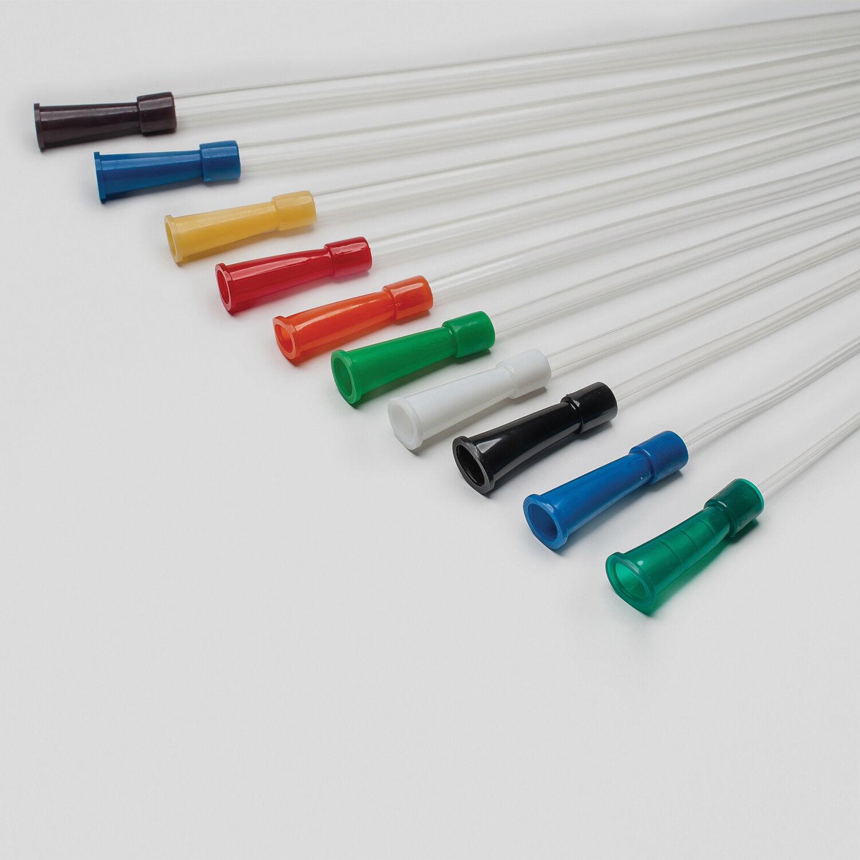 Nelaton Katheter Einmalkatheter  Blasenkatheter 40cm / Ø 1,98 - 8mm CH 6- CH 24
