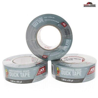Duct Tape Heavy Duty 3 Rolls 1.88 X 60 Yds New