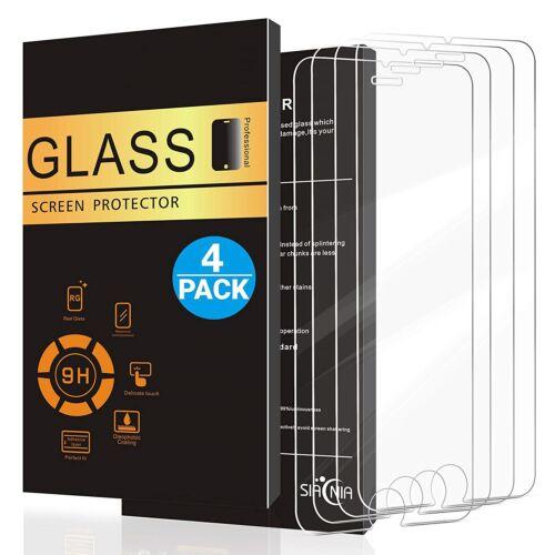 4x Panzer Glasfolie Für iPhone 7 iPhone 8 Echt Glas 9H Schutzglas Schutzfolie