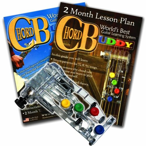 CHORD BUDDY Guitar Learning System Teaching Aid Book Lesson App RIGHT Chordbuddy