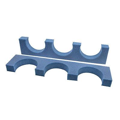 Trident Triple Foam Tank Rack (Foam Tank Rack)