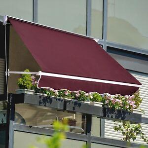 Petit Auvent 6' x 2.3' 1.83m x 0.7m pour Fenêtre et Porte