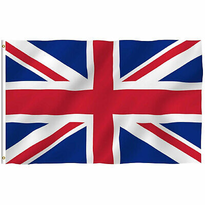 British Union Flag Jack United Kingdom UK Great Britain Flag 3×5 FT Banner Décor