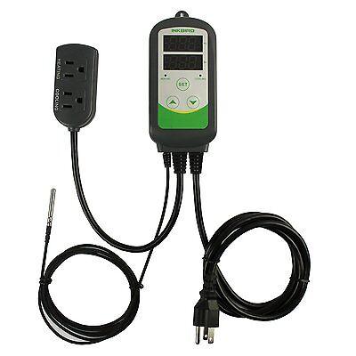 110v Freezer Fridge Greenhouse Temperature Controller Digital Control Thermostat