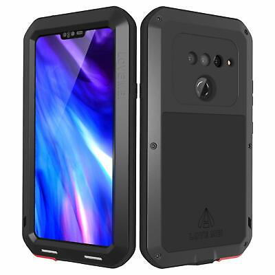 Love Screen - LOVE MEI LG V40 ThinQ Case with Tempered Glass Screen Protector Powerful Serie