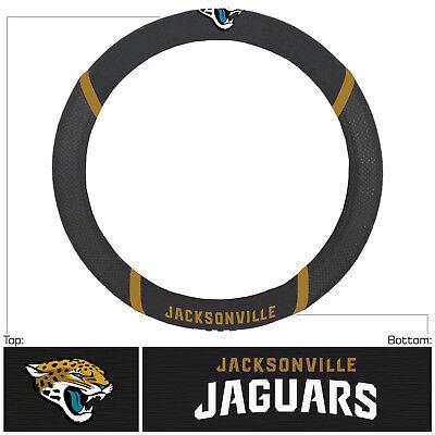 Football Jacksonville Jaguars Embroidered Mesh Steering Wheel Cover 14.5