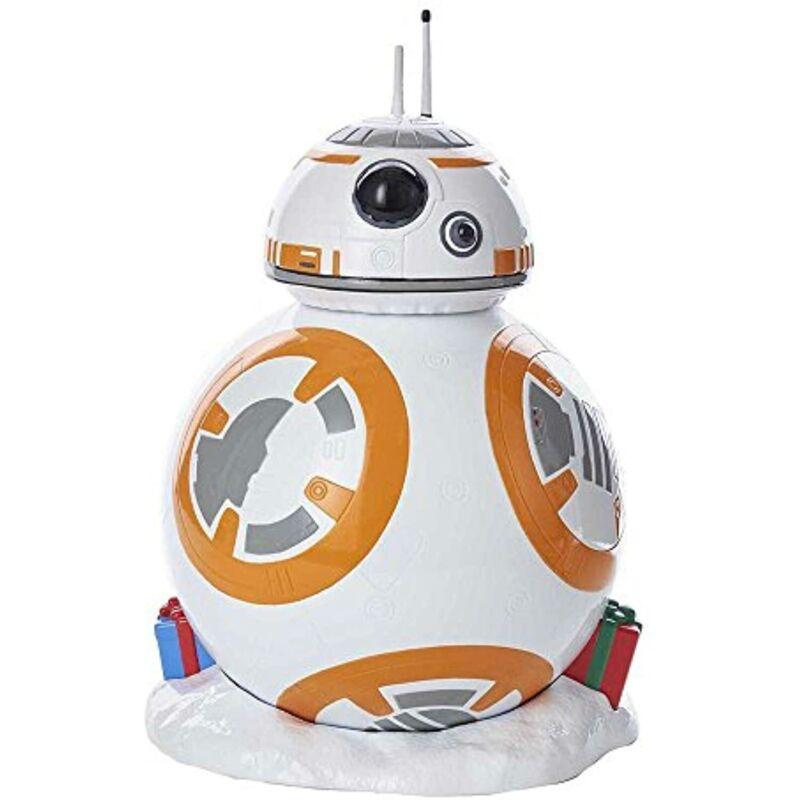 Kurt Adler 9.25-Inch Battery-Operated~BB-8 Droid~LED Christmas Treetop Decor