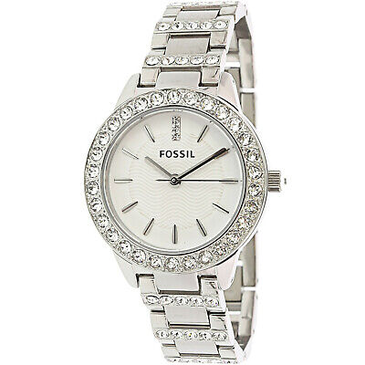 Fossil Women's Jesse ES2362 Silver Stainless-Steel Japanese Quartz Dress Watch