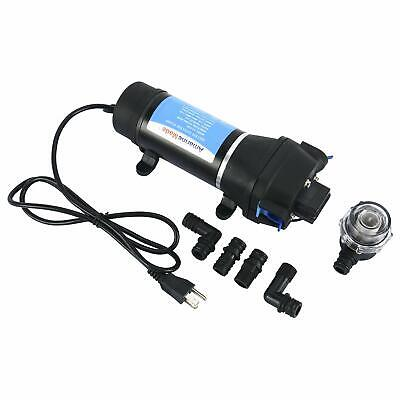 110v Ac Self Priming Water Pressure Diaphragm Pump 4.5gpm 40 Psi Caravanmarine