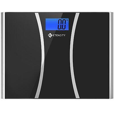 (Etekcity 440lbs Digital Body Weight Bathroom Scale with Ultra Wide Platform )