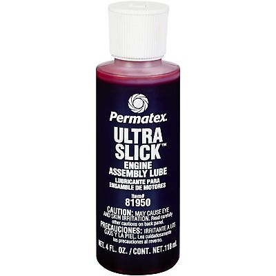 Permatex 81950 Ultra Slick Engine Assembly Lube Oil Engine Bearings Camshafts