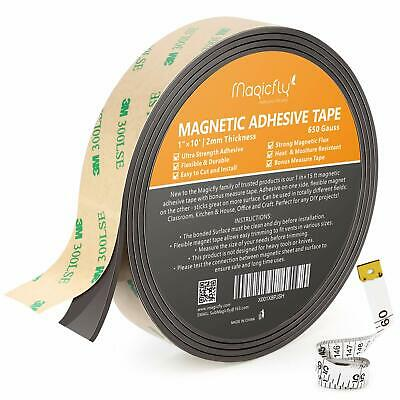 Magnetic Adhesive Tape Diy Projects Craft Strength Adhesive And Magnet Sheet