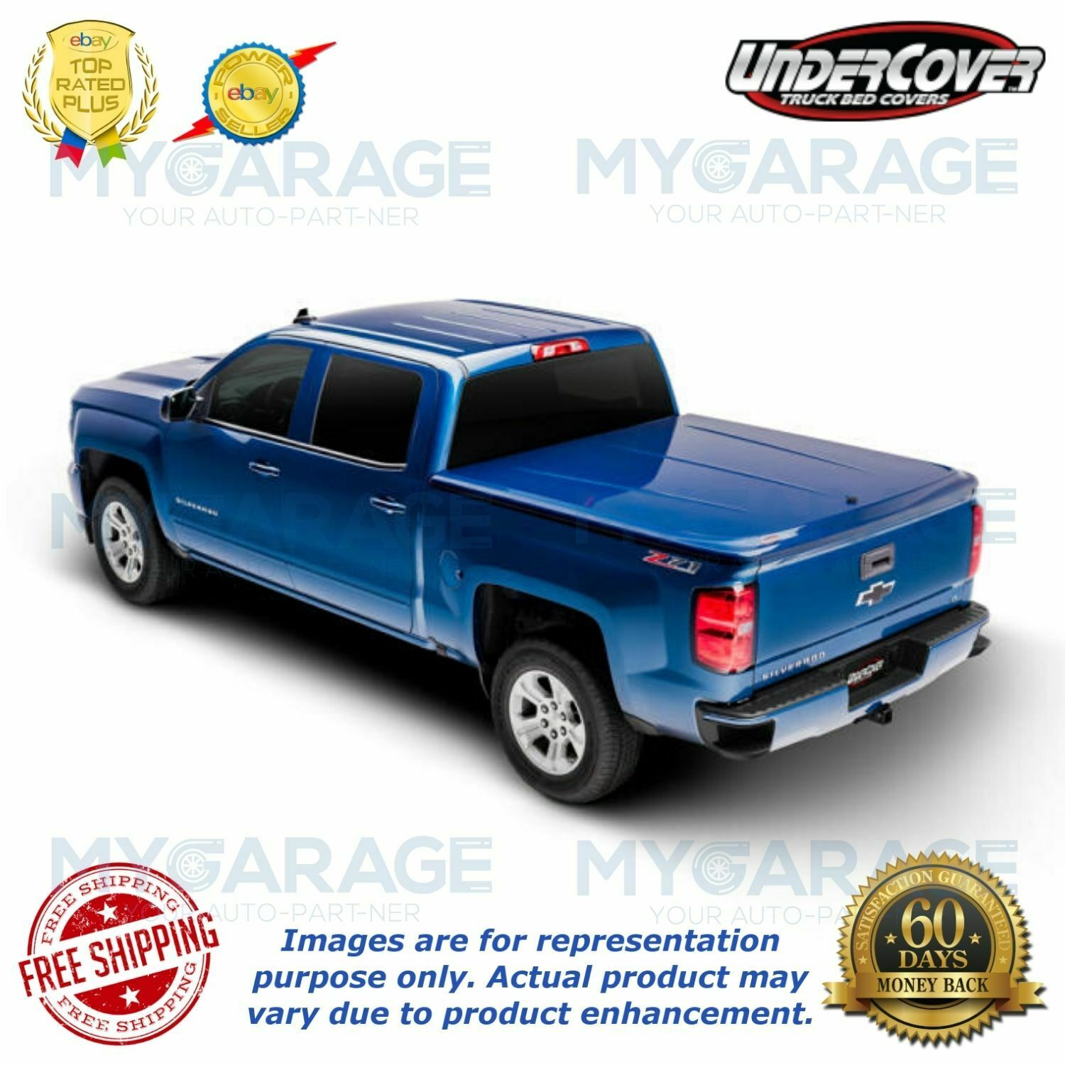Undercover For 2015 2018 Ford F 150 5 6 Bed Lux Truck Bed Cover Uc2156s Ebay