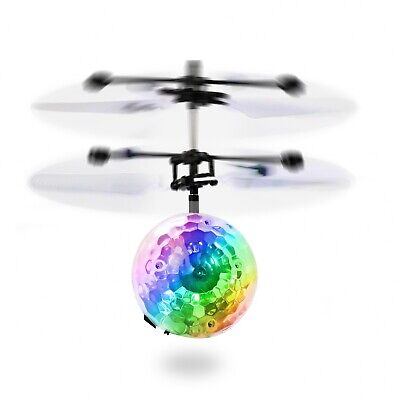 Toys for Boys Flying Ball LED 3 4 5 6 7 8 9 10 11Year Old Age Xmas Boy Cool Gift (Gifts For 10 Year Old Boy)