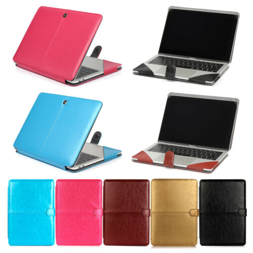 Soft PU Leather Laptop Sleeve Case Cover Skin For Macbook Ai