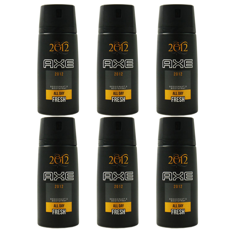Axe Deo 6 x 150 ml diverse Sorten Deodorant Deospray - verschiedene Sorten 2012 Final Edition
