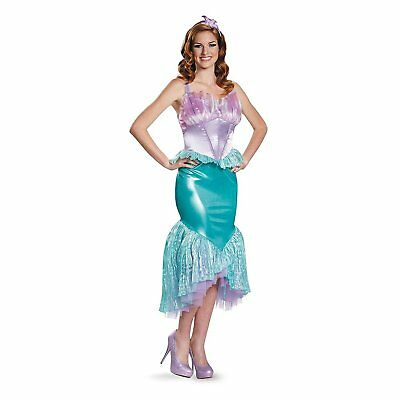 The Little Mermaid Women's Ariel Deluxe Adult Costume | Disguise 85686](Ariel Costumes For Women)
