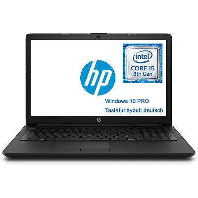 "Power Notebook HP 15-da0103ng 15,6"" Intel i5-8250U 8GB 256GB M.2 SSD Windows 10"