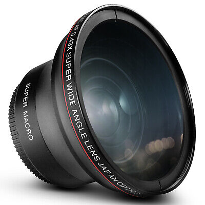 Altura Photo 58MM .43x Wide Angle Lens with Macro for Canon