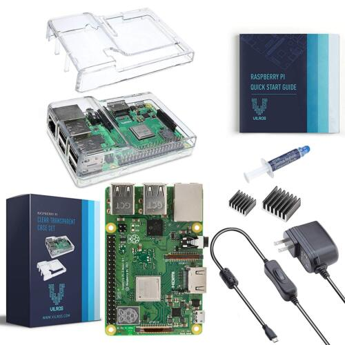 Vilros Raspberry Pi 3 Model B+ (Plus) Basic Starter Kit