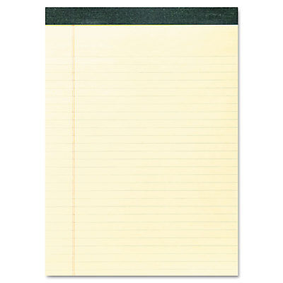 Roaring Spring Recycled Legal Pad 8 12 X 11 34 Pad 8 12 X 11 Sheets 40pad
