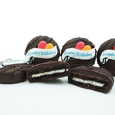 Philadelphia Candies Dark Chocolate Covered Oreo  Cookies  Happy Birthday Gift
