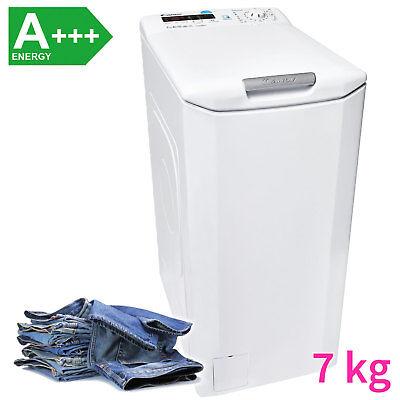 Candy A+++ 7 kg XL Toplader Waschmaschine Waschautomat NFC Startzeitvorwahl NEU