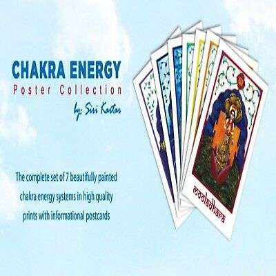 Chakra Energy Print Collection by Siri Kartar and Sri Madhuji