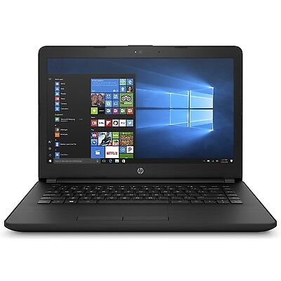 "Hewlett Packard 14-bw065nr 14"" AMD Dual-Core E2-9000e 4GB DDR4 32GB eMMC Laptop"