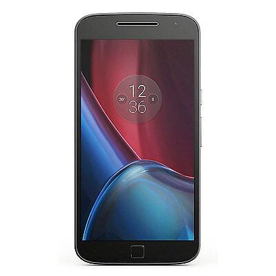 New Motorola Moto G4 Plus XT1641 Dual SIM GSM Unlocked 32GB 16MP Phone Black