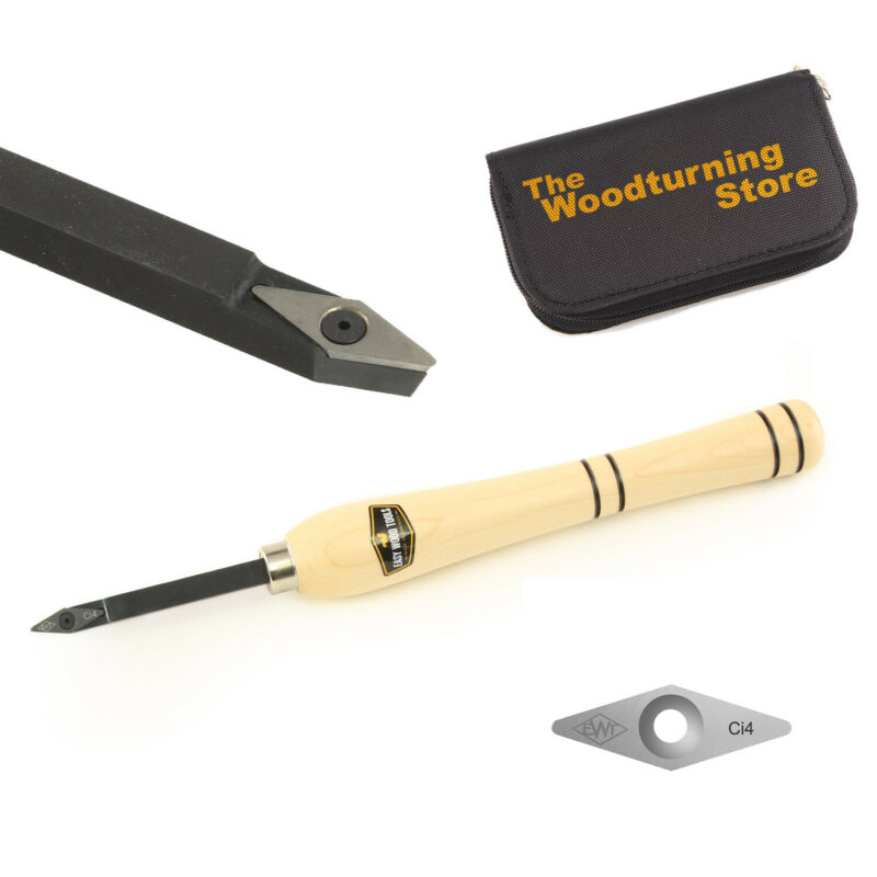 Easy Wood Tools 9720 Easy Start Detailer w/ Ci4 Diamond Cutter and Cutter Holder