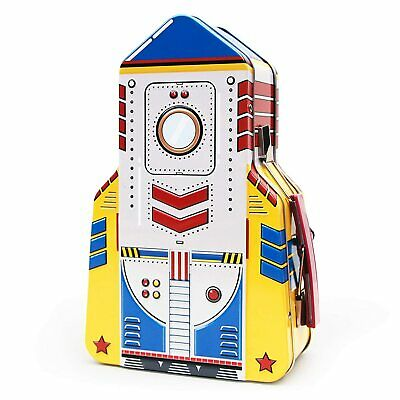Lunchbox Lunch Box Storage Rocket Case Snack Holder Childrens  Tin  - Suck UK