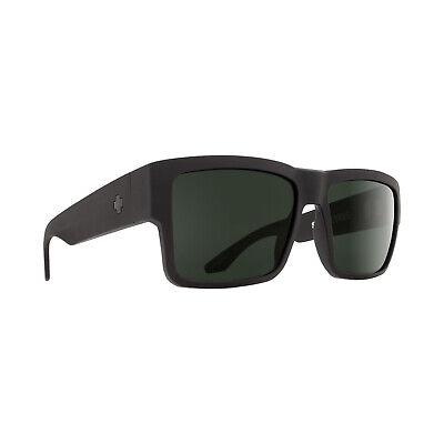 Spy Cyrus Matte Black - Happy Grey Green Sunglasses