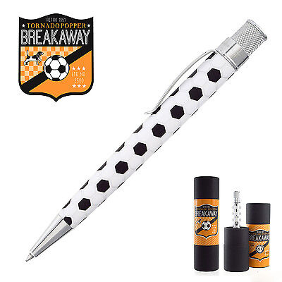 New, Sealed Retro 51 Tornado Soccer Rollerball Pen  Numbered Ltd. Ed.