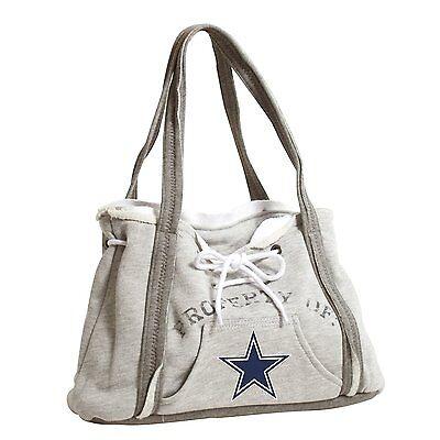 Dallas Cowboys NFL Football Team Ladies Embroidered Hoodie Purse Handbag Dallas Cowboys Embroidered Football