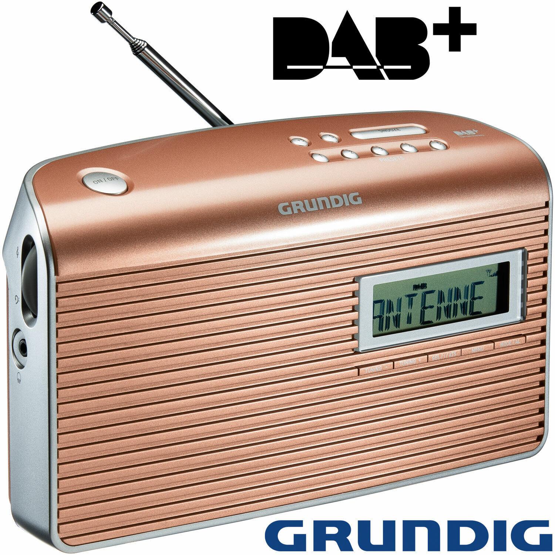 Grundig DAB Digitalradio Audio Music Radiowecker Küchenradio Wecker Tisch Radio