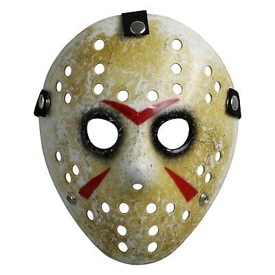 Friday The 13th Costume For Kids (Friday The 13th Costume Prop Hockey Mask Jason Horror Halloween Mask for)