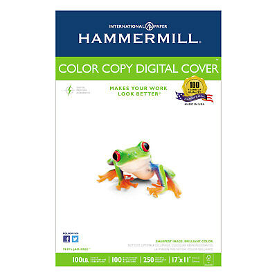 Hammermill Copier Digital Cover 92 Brightness 17 X 11 Photo White 250 Sheets