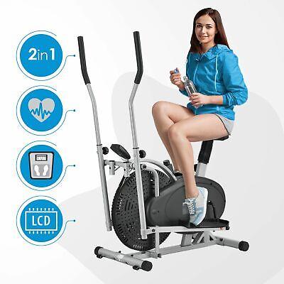 ArtSport® Crosstrainer Heimtrainer Ergometer 2in1 Fitness Sport Ellipsentrainer