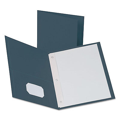 Oxford Twin-Pocket Folders with 3 Fasteners Letter 1/2