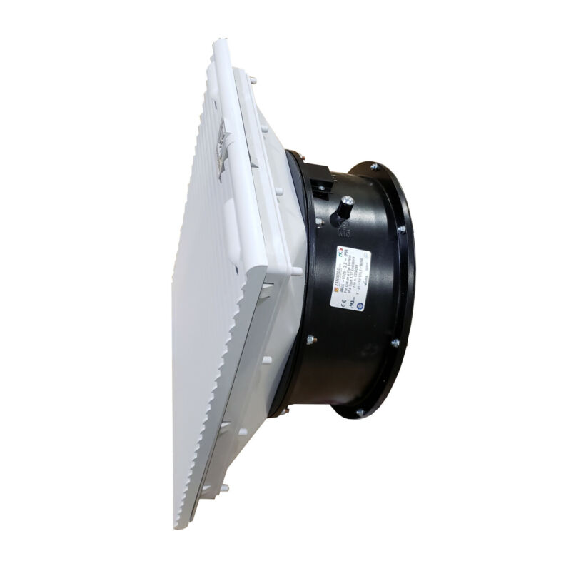 "Fan with Filter by Tecnomatic ARIAV-150W 6"" for Control Panel Enclosures 115V"