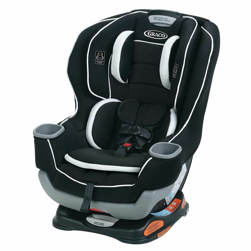 Graco Extend2Fit Convertible Car Seat | Ride Rear Facing Longer with Extend2Fit,