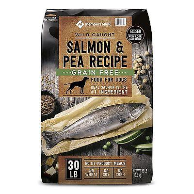 Member's Mark Exceed Grain-Free Dry Dog Food, Wild-Caught Salmon & Peas 30 lbs.