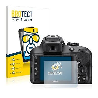 Panzerfolie Nikon D3400 Schutzpanzer Glasfolie Schutzglas Displayschutzfolie