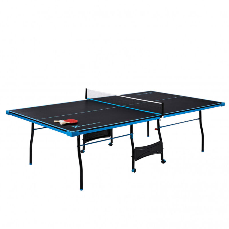 Official Size Table Tennis Ping Pong Table Indoor With Paddle And Balls 3 Colors