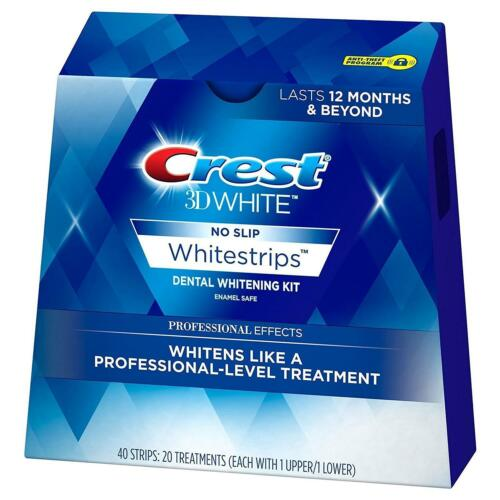 main photo of Crest 3D No Slip Whitestrips Professional Effects Dental Whitening Kit 20ct CHOP