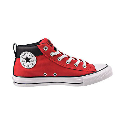 Converse Chuck Taylor All Star Mid Men's Shoes Enamel Red-White-Black 164886F