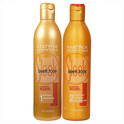 Sleek Look Shampoo and Conditioner 13.5 fl oz (Duo Pack)
